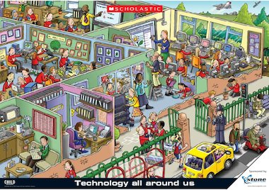 technology around us Technology is one of the best things to have happened to the world people like complaining that teens these days walk around with their faces glued to phones and ipads, etc.