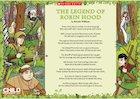 The legend of Robin Hood – poem poster