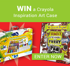 WIN a Crayola Inspiration Art Case