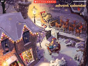 Interactive advent calendar