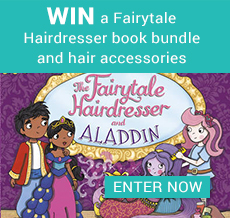 WIN a Fairytale Hairdresser book bundle and hair accessories