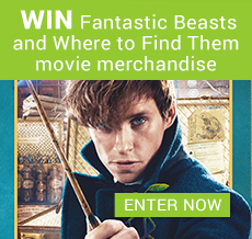 WIN Fantastic Beasts and Where to Find Them movie merchandise