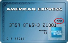 American Express Card Security Code