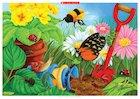 Minibeasts: In the garden poster