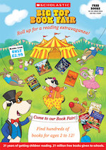 Big Top Book Fair Invitation