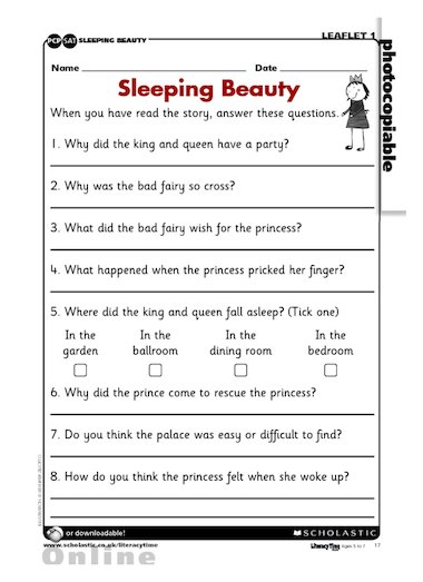 Use this SAT -style activity sheet to assess understanding of the ...