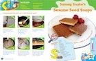 Letterland recipe card: Sammy Snake's Sesame Seed Snacks