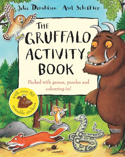 The Gruffalo Activity Book - Scholastic Kids' Club