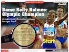 Dame Kelly Holmes