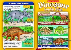 Dinosaur body bits