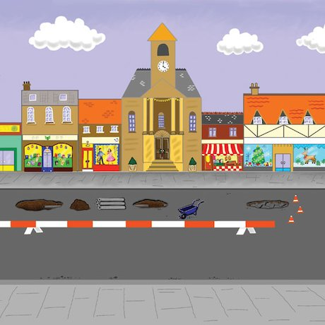 The street song scene
