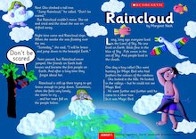 Raincloud - Guided reading leaflet