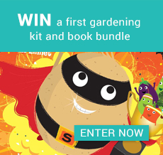 WIN a first gardening kit and book bundle