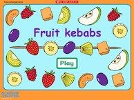 Fruit kebabs interactive game