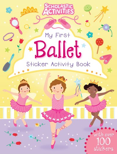 My dress-up ballerinas sticker book