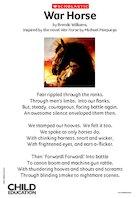 War Horse poem