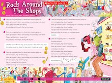 Audio poster: Rock Around The Shops