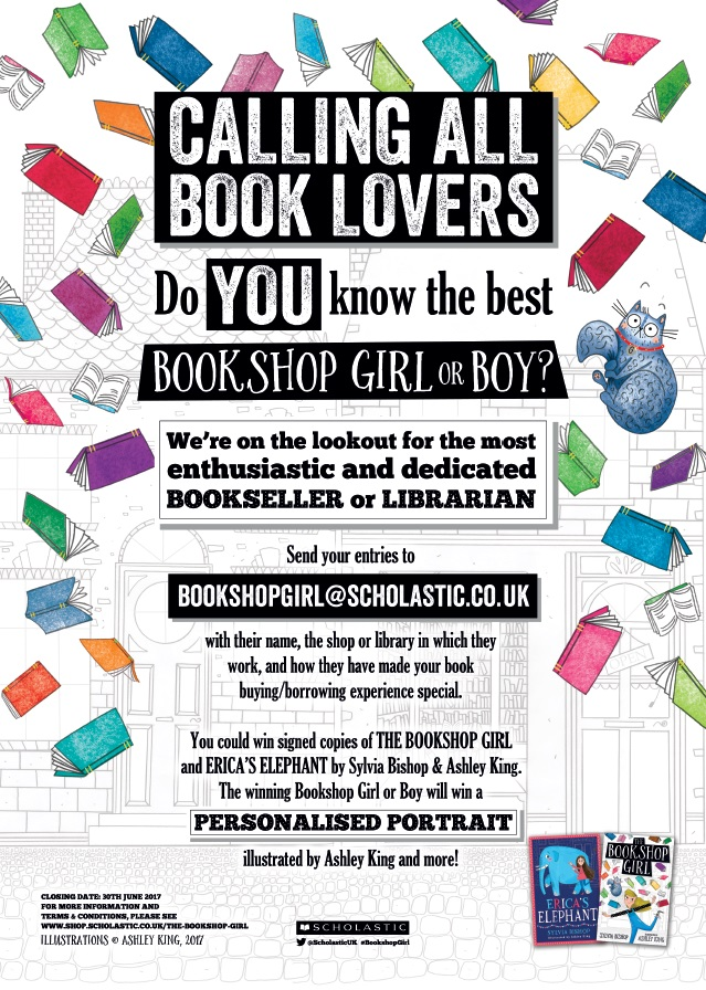 The Bookshop Girl Poster Updated