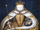 Queen Elizabeth I takes the throne