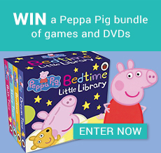 WIN a Peppa Pig bundle of games and DVDs