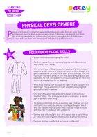 Starting school ? physical development
