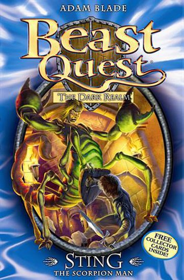 Beast quest series 3 18 sting the scorpion man tom s quest to free the