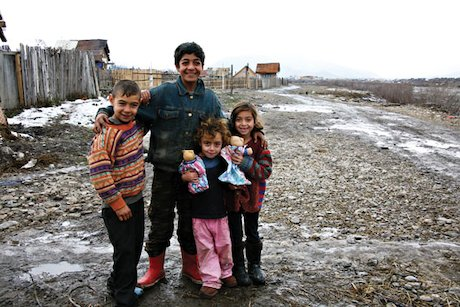 Children in Romania