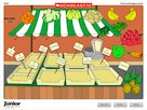 Interactive: French matching words  --  food