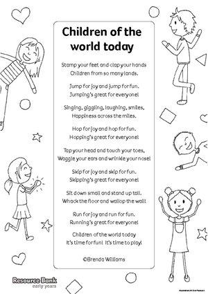 'Children of the World' poem