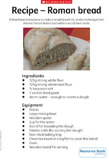 Recipe - Roman bread