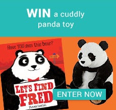 WIN a cuddly panda toy