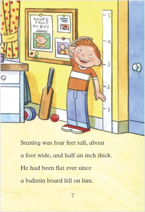 flat stanley book review