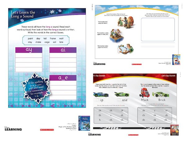 Disney worksheets