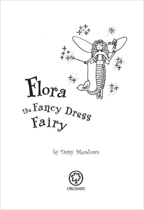 rainbow magic early reader 1 flora the fancy dress fairy scholastic kids 39 club. Black Bedroom Furniture Sets. Home Design Ideas