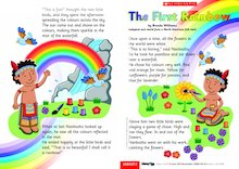The first rainbow - Guided reading leaflet