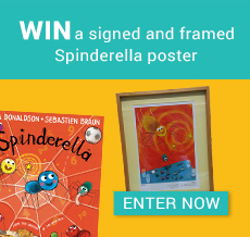 WIN a signed and framed Spinderella poster