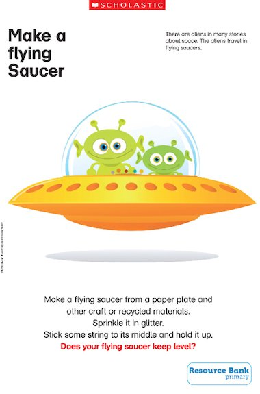 Invite your children to make their own out-of-this-world flying saucer ...