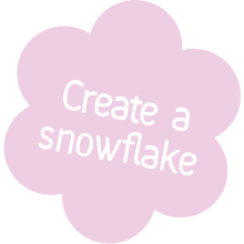 create a snowflake.png