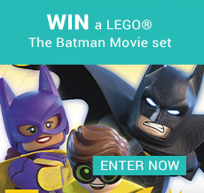 WIN a LEGO® The Batman Movie set