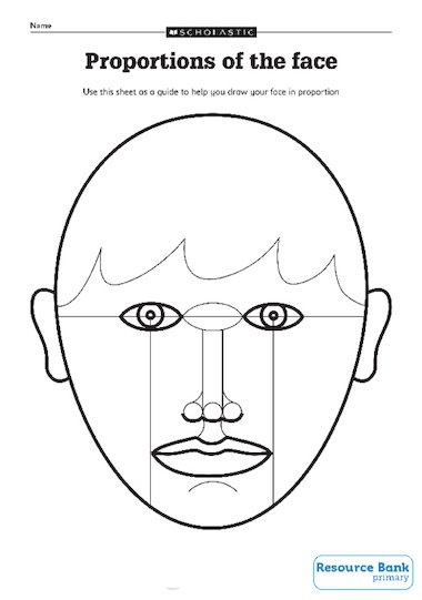 Proportions of the face – Primary KS2 teaching resource - Scholastic
