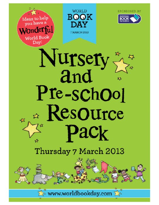 World Book Day 2013 - Nursery Resource Pack