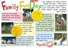 Family fun day – poster