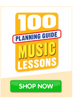 100 lessons planning guide Music