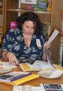 Scholastic Business School - Victoria O'Neill judging