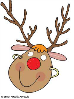 Rudolph mask