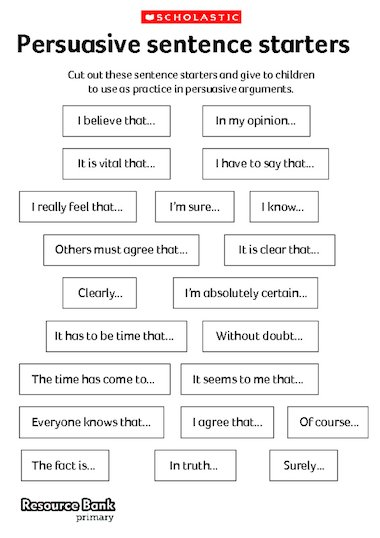 creative ways to teach thesis statements