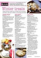 Winter treats article