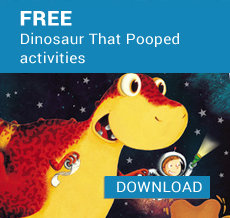 Free The Dinosaur That Pooped activities