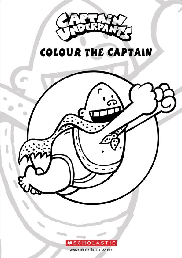 Colour Captain Underpants Scholastic