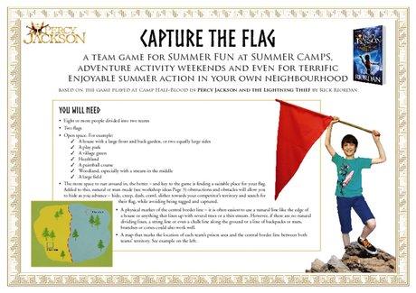 Percy Jackson - Capture the Flag